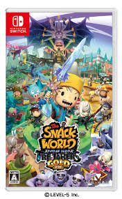La copertina giapponese di The Snack World: Trejarers Gold per Switch